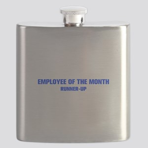 EMPLOYEE-OF-THE-MONTH-AKZ-BLUE Flask