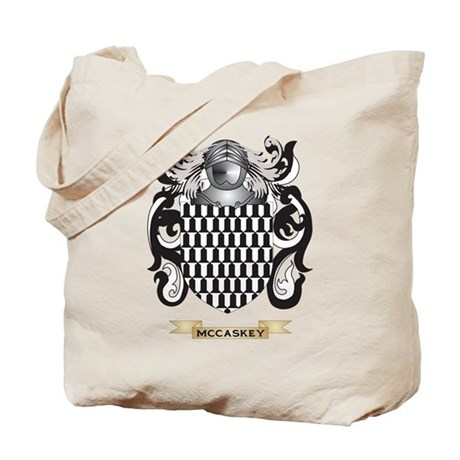 McCaskey Coat of Arms - Family Crest Tote Bag