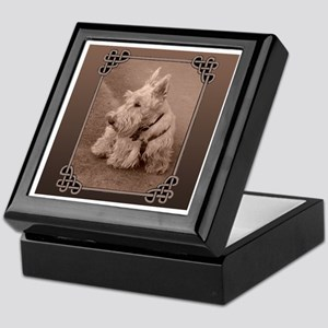 Wheaten Scottie Keepsake Box