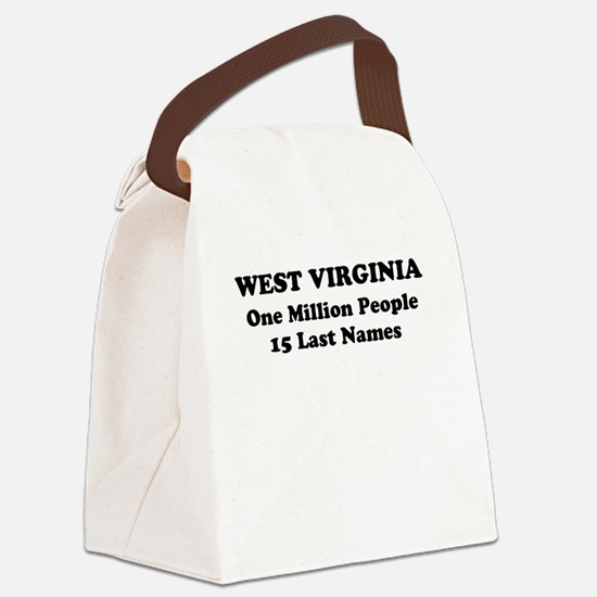West Virginia one million people 15 last names Can