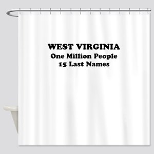 West Virginia one million people 15 last names Sho