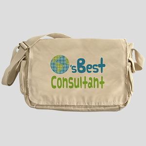 Earths Best Consultant Messenger Bag