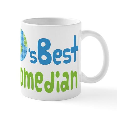 Earths Best Comedian Mug