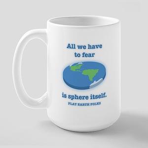 Fear the Sphere 15 oz Ceramic Large Mug