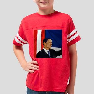 2-obamasquare3 Youth Football Shirt