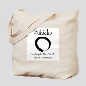 Aikido Peace & Harmony Tote Bag