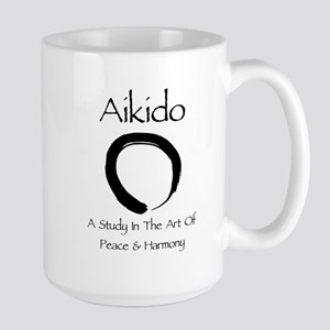 Aikido Peace & Harmony Large Mug