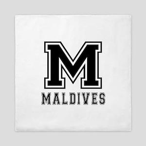 Maldives Designs Queen Duvet