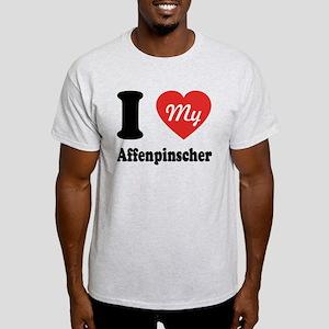 I Heart My Affenpinscher Light T-Shirt