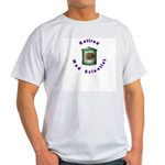 Retired Mad Scientist Ash Grey T-Shirt