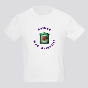 Retired Mad Scientist Kids T-Shirt