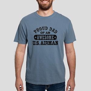 pdadawesomeusair Mens Comfort Colors Shirt