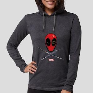 Deadpool Jolly Roger Womens Hooded Shirt