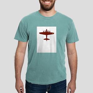 b-17-red Mens Comfort Colors Shirt