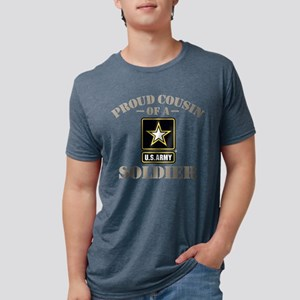 Proud U.S. Army Cousin Mens Tri-blend T-Shirt