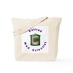 Retired Mad Scientist Tote Bag