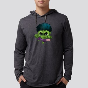 Chibi Hulk Mens Hooded Shirt