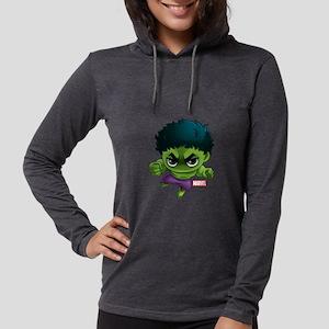 Chibi Hulk Womens Hooded Shirt