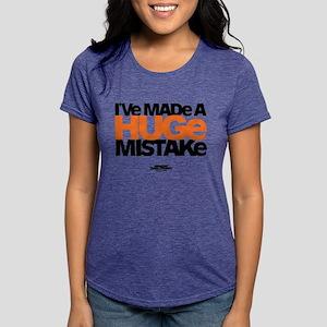Huge Mistake Light Womens Tri-blend T-Shirt