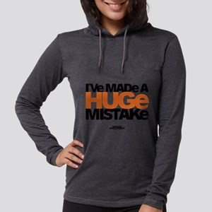 Huge Mistake Light Womens Hooded Shirt