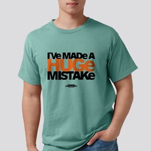 Huge Mistake Light Mens Comfort Colors Shirt