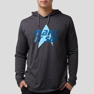 Star Trek: Make It So Mens Hooded Shirt
