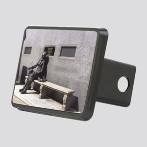 Eleanor Rigby Statue Rectangular Hitch Cover