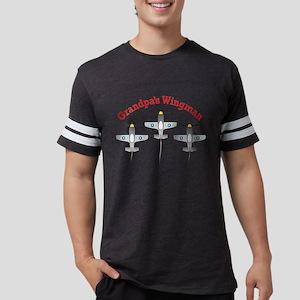 Grandpas Wingman 1 Mens Football Shirt