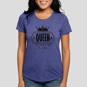 Bones Queen of the Lab Li Womens Tri-blend T-Shirt