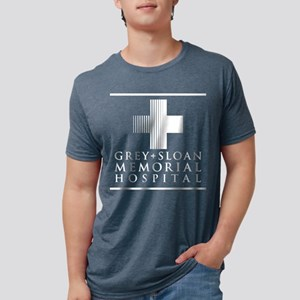Grey Sloan Hospital Mens Tri-blend T-Shirt