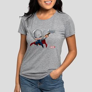 Thor Chibi 2 Womens Tri-blend T-Shirt