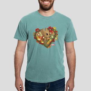 GOTG Baby Groot Valentin Mens Comfort Colors Shirt