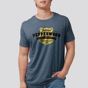 New Girl Julius Pepperwood Mens Tri-blend T-Shirt