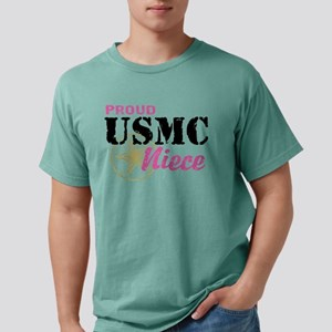 usmcniece6671 Mens Comfort Colors Shirt