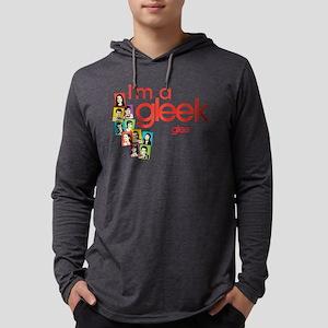 I'm a Gleek Light Mens Hooded Shirt
