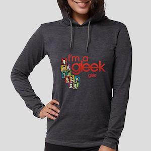 I'm a Gleek Light Womens Hooded Shirt