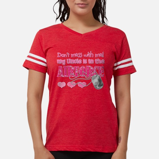 DontMesswithmemyUncleAirForc Womens Football Shirt