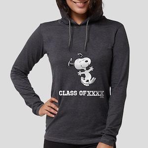 Snoopy Class of XXXX Womens Hooded Shirt