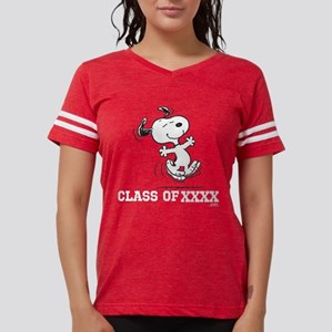 Snoopy Class of XXXX Womens Football Shirt