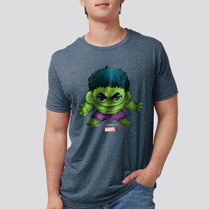 Chibi Hulk 2 Mens Tri-blend T-Shirt