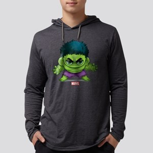 Chibi Hulk 2 Mens Hooded Shirt