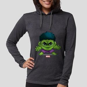 Chibi Hulk 2 Womens Hooded Shirt
