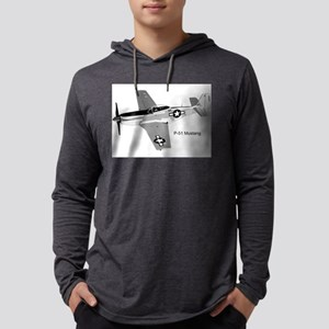 P-51 Mustang Mens Hooded Shirt