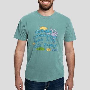 New Girl OCD Dark Mens Comfort Colors Shirt
