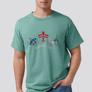 Plane Crazy Aviation  Mens Comfort Colors Shirt