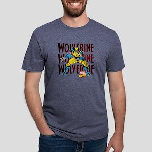 Wolverine Mens Tri-blend T-Shirt