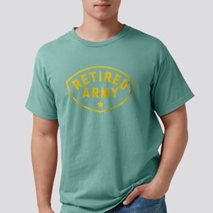 Retired Army Mens Comfort Colors Shirt