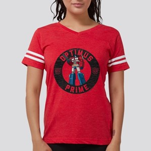 Optimus Prime Circle Womens Football Shirt