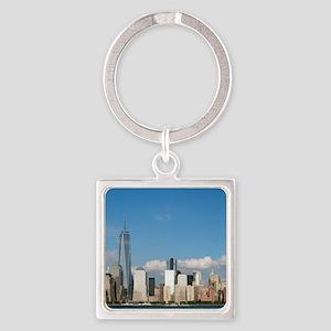 New! New York City USA - Pro Photo Square Keychain