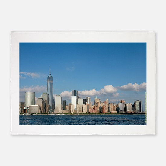 New! New York City USA - Pro Photo 5'x7'Area Rug